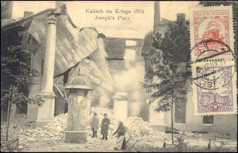 Poland Kalisz Kalisch Joseph 39 S Place In Ruins 1927 Ebay