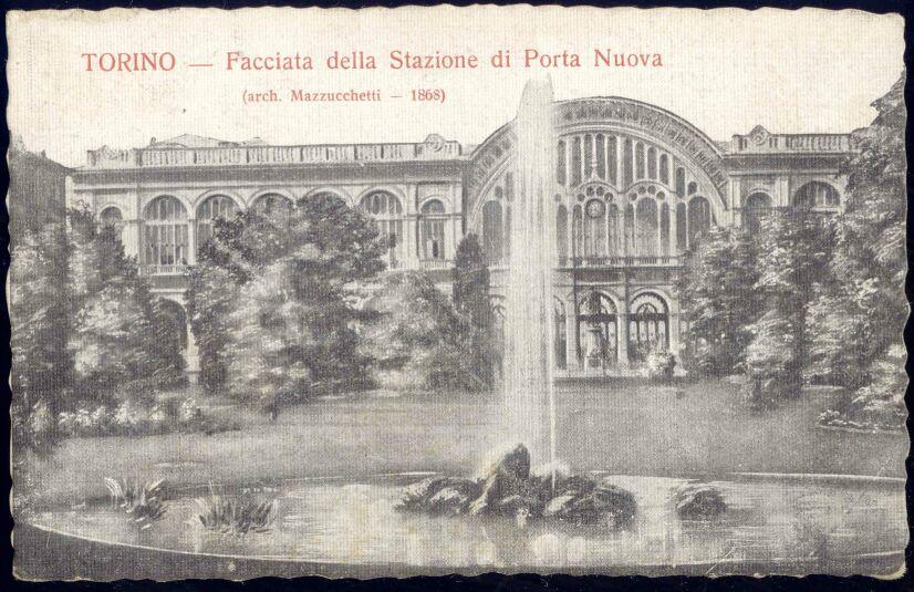 Italy torino stazione di porta nuova 1920 station ebay - Libreria feltrinelli porta nuova torino ...