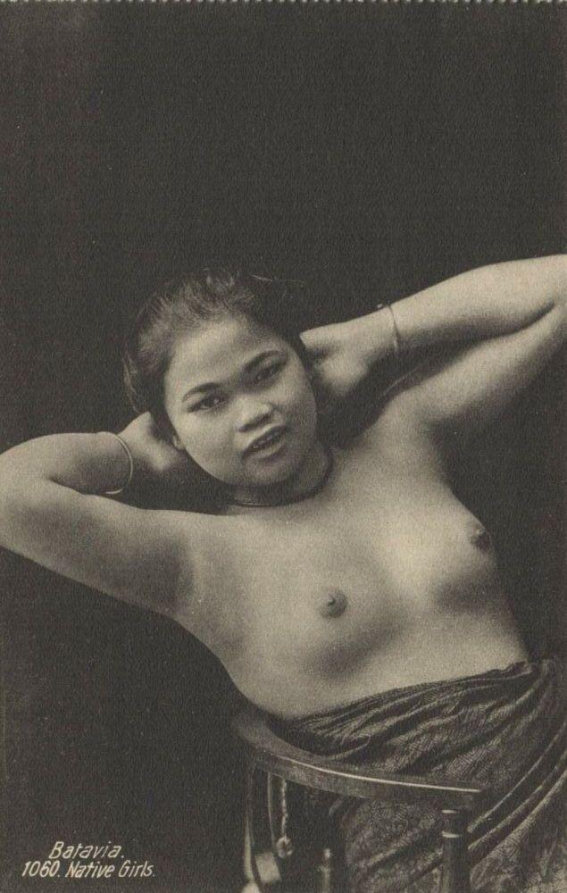 Indonesia Java Batavia Native Nude Girl S