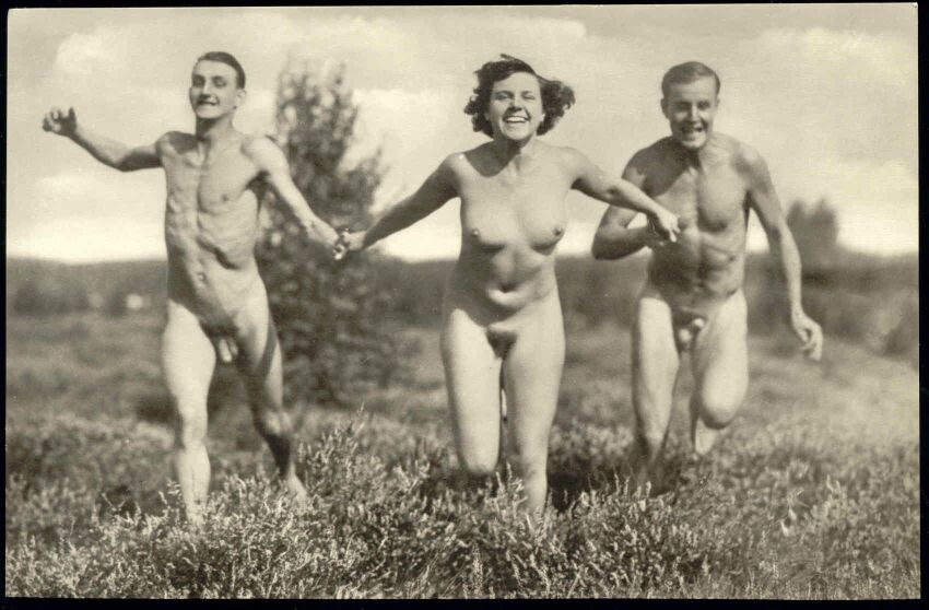 Two Full NUDE Boys and One Girl, Nudists (Ed. Unknown - Please note: This is ...